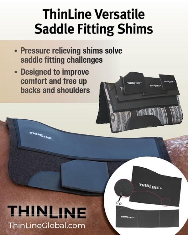 western saddle fit shims
