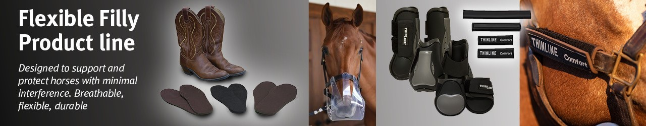 Flexible Filly Closed Front Splint Boots