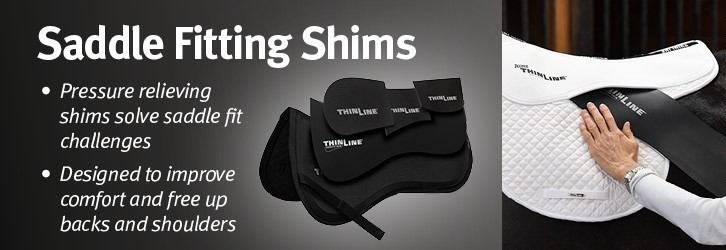 english saddle fitting shims