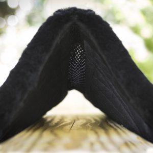 spine free breathable english saddle pad